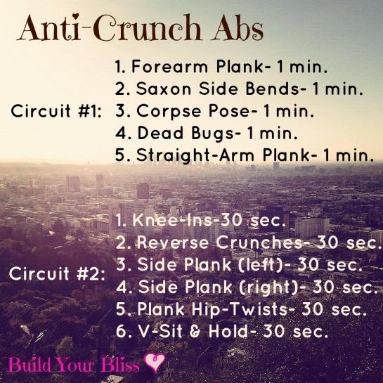 Anti-Crunch Abs